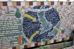 Food miles mosaic