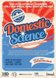 Domestic Science Flyer