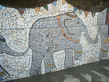 Nek Chand's mosaics come to Sussex