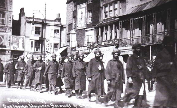 DR BLIGHTY – Indian soldiers in Brighton