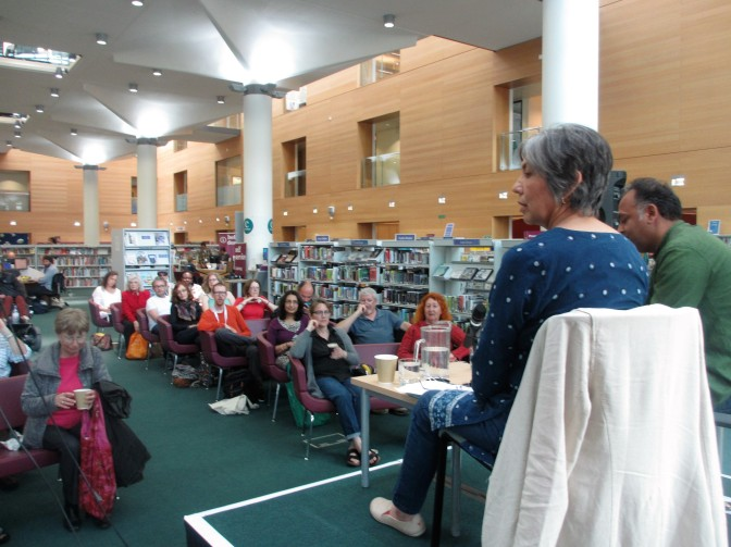 Dr Blighty event at Jubilee Library