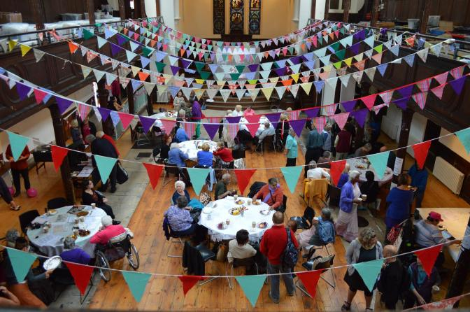 Break out the bunting! Free workshop