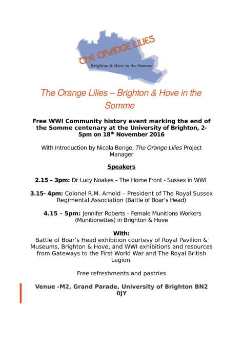 the-orange-lilies-community-history-event-18th-nov-2016-1