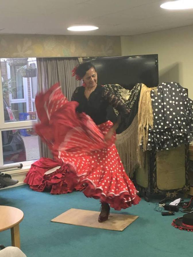 Flamenco for Dancing with Dementia project
