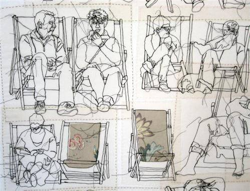 Drawing with Textiles – Free workshops from Strike a Light