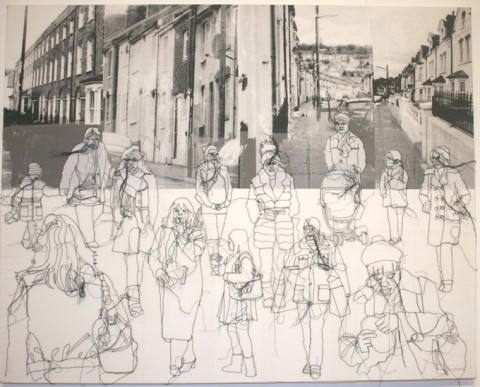 Free Workshop: Drawing with Textiles. Saturday 11th March
