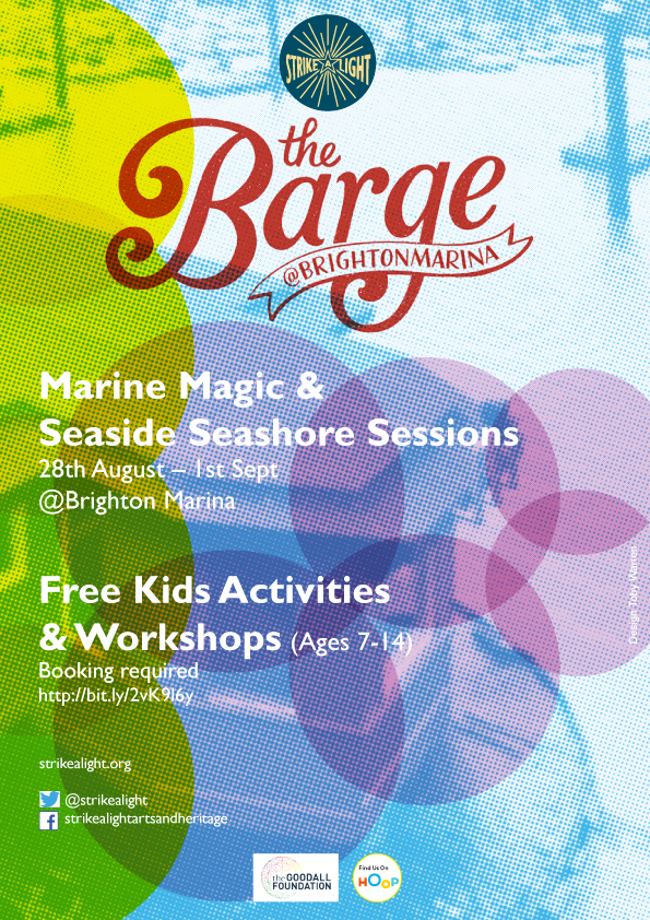 Summer youth arts activities on The Barge starts next week