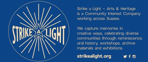 Strike a Light banner - landscape