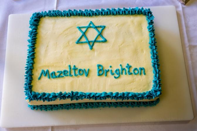 Mazel tov Brighton