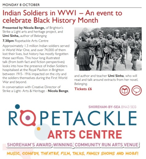 Indian soldiers talk - Wordfest