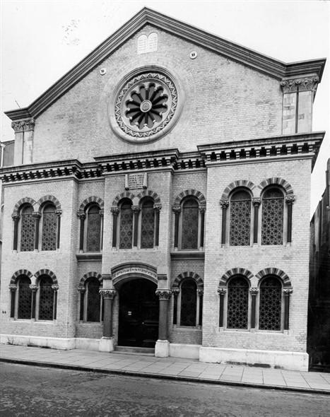 Middle Street Synagog 1960