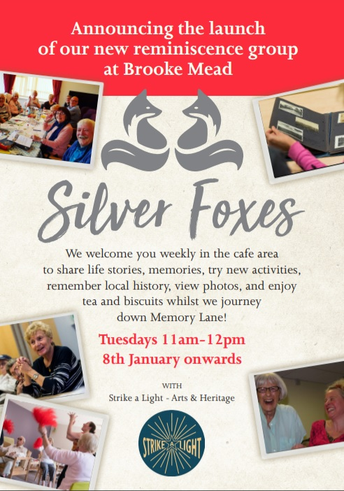 Silver Foxes group to start!
